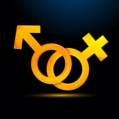 Símbolo Mujer Y Hombre